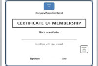 13 Free Certificate Templates For Word » Officetemplate throughout New Member Certificate Template