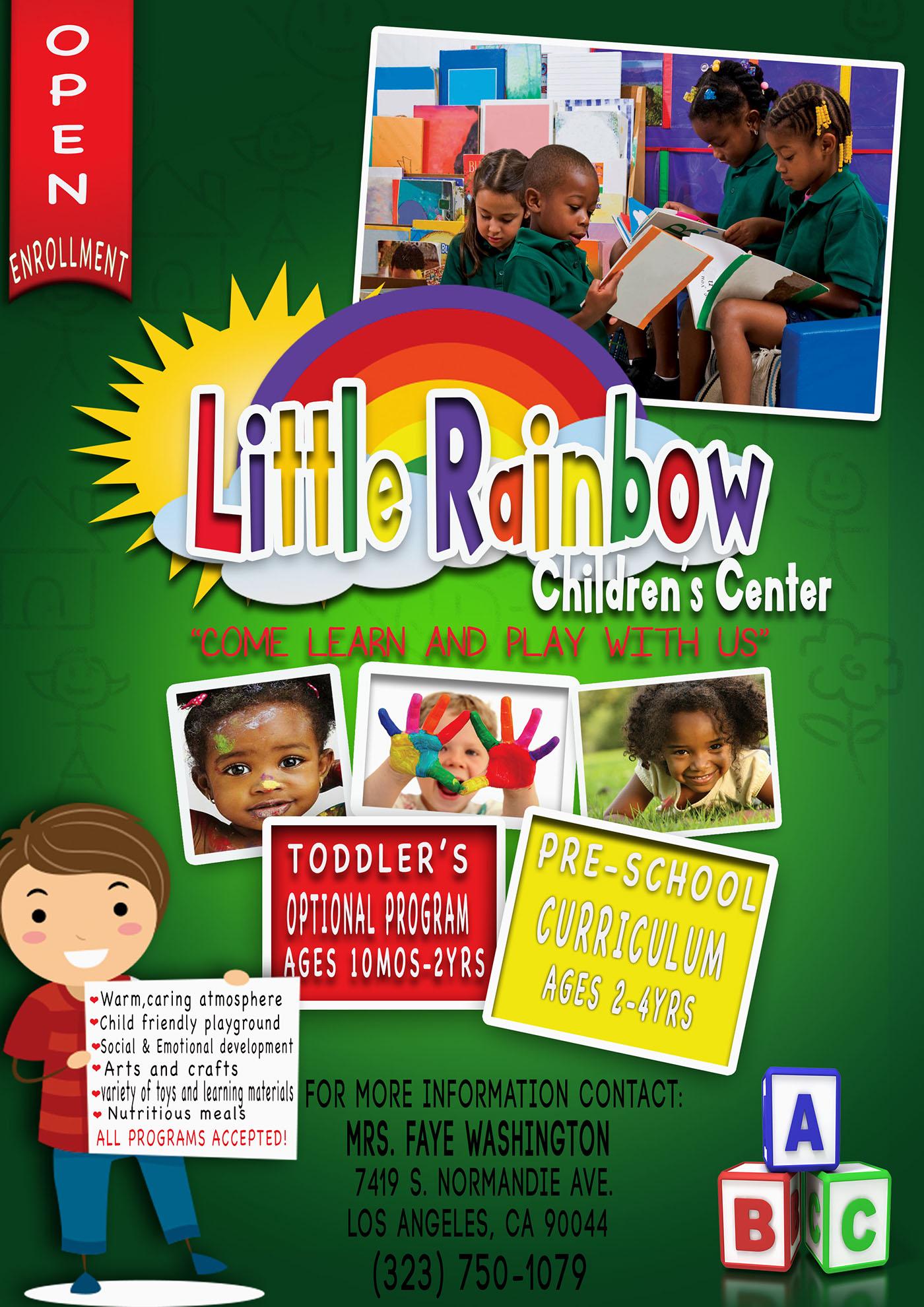 16+ Preschool Flyer Designs & Examples – Psd, Ai   Examples Regarding Kindergarten Flyer Template
