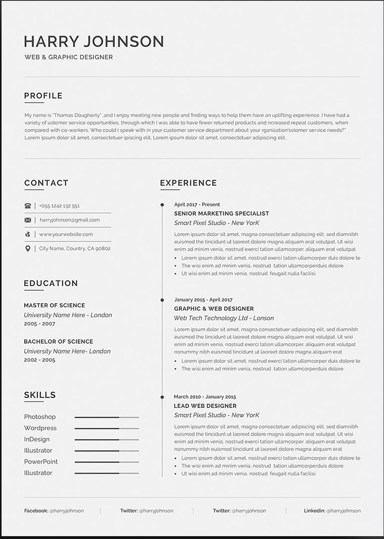 microsoft word resumes templates  best template ideas