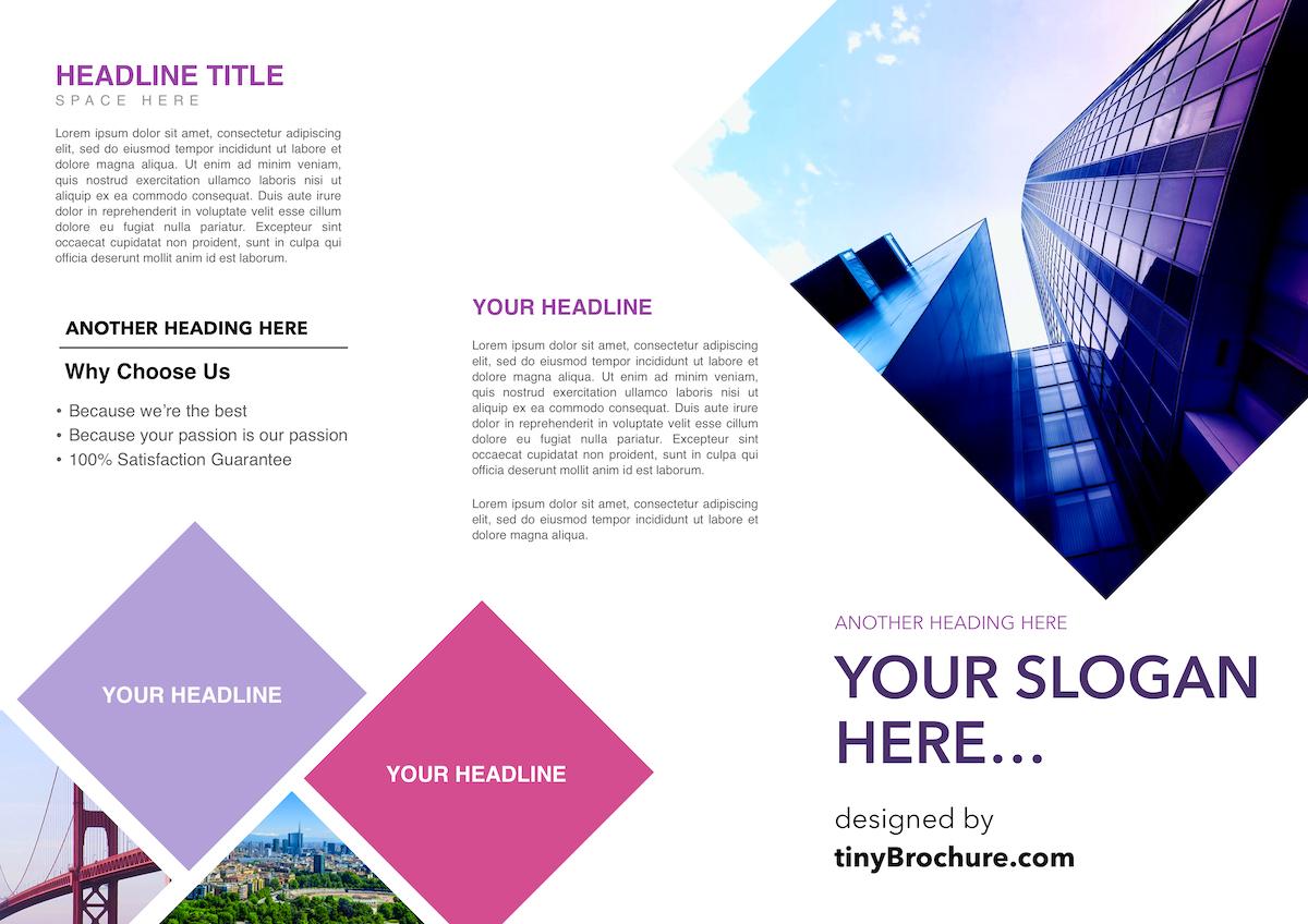 google docs templates brochure