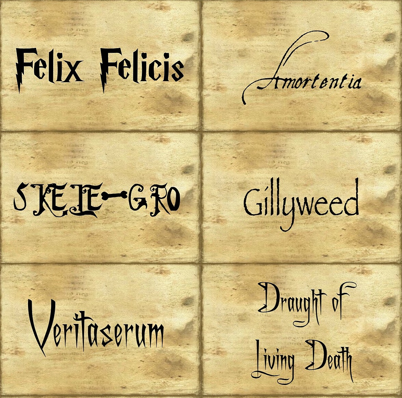 Best Harry Potter Potion Labels Printable | Carroll's Blog With Harry Potter Potion Labels Templates