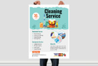 Cleaning Service Flyer Templatear Xihad On Dribbble with regard to House Cleaning Flyer Template