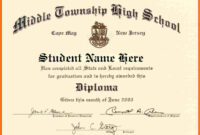 Diploma Template Download - Colona.rsd7 with regard to Ged Certificate Template Download