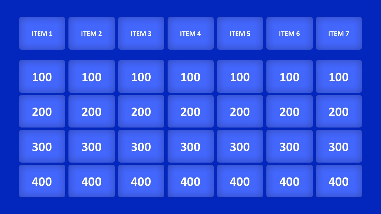 Double Jeopardy Game Template - Firuse.rsd7 Pertaining To Jeopardy Powerpoint Template With Sound