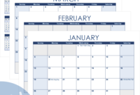 Excel Calendar Template For 2020 And Beyond for Monthly Meeting Calendar Template