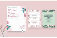 Free Online Flyer Maker: Design Custom Flyers With Canva throughout Graphic Design Flyer Templates Free