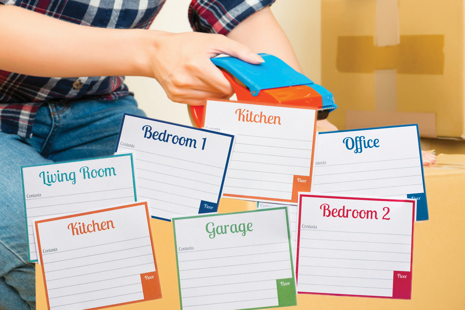 Free Printable Labels For Moving Boxes Pertaining To Moving Box Label Template