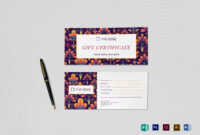 Gift Certificate Template intended for Gift Certificate Template Indesign