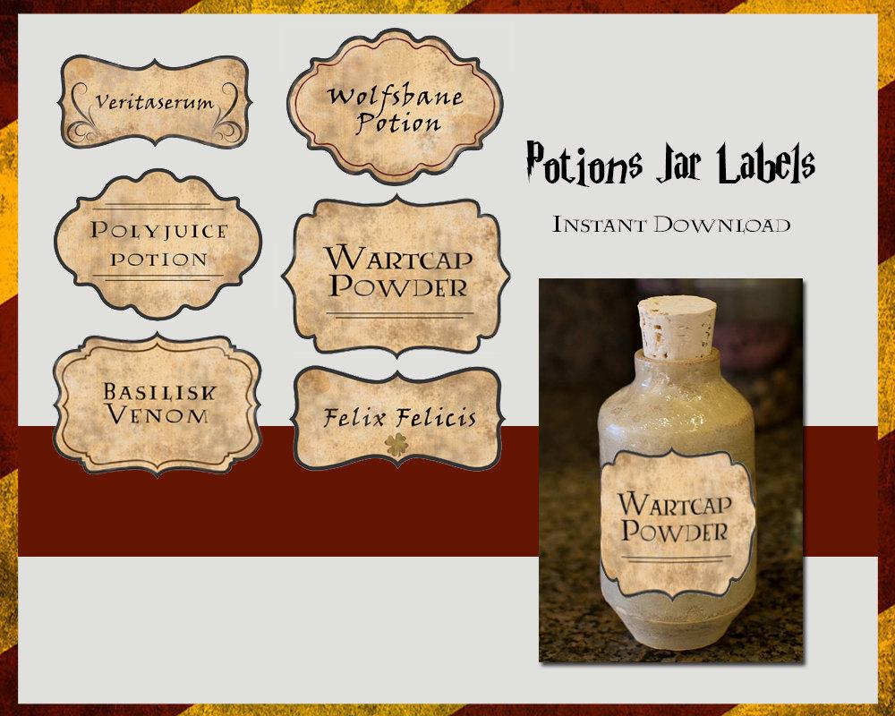 Harry Potter Potion Label Template Potions+Copy – Baby Inside Harry Potter Potion Labels Templates
