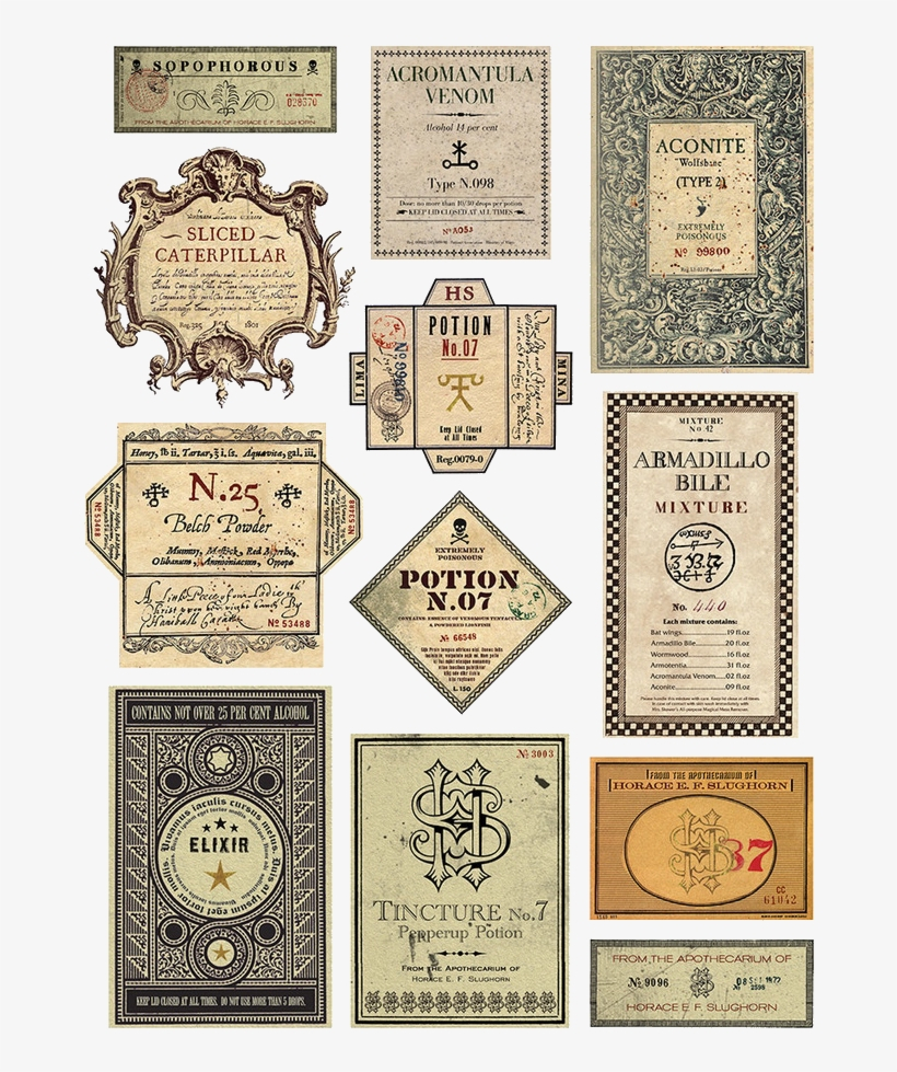 Harrypotterprops – – Harry Potter Free Printable Potion With Harry Potter Potion Labels Templates
