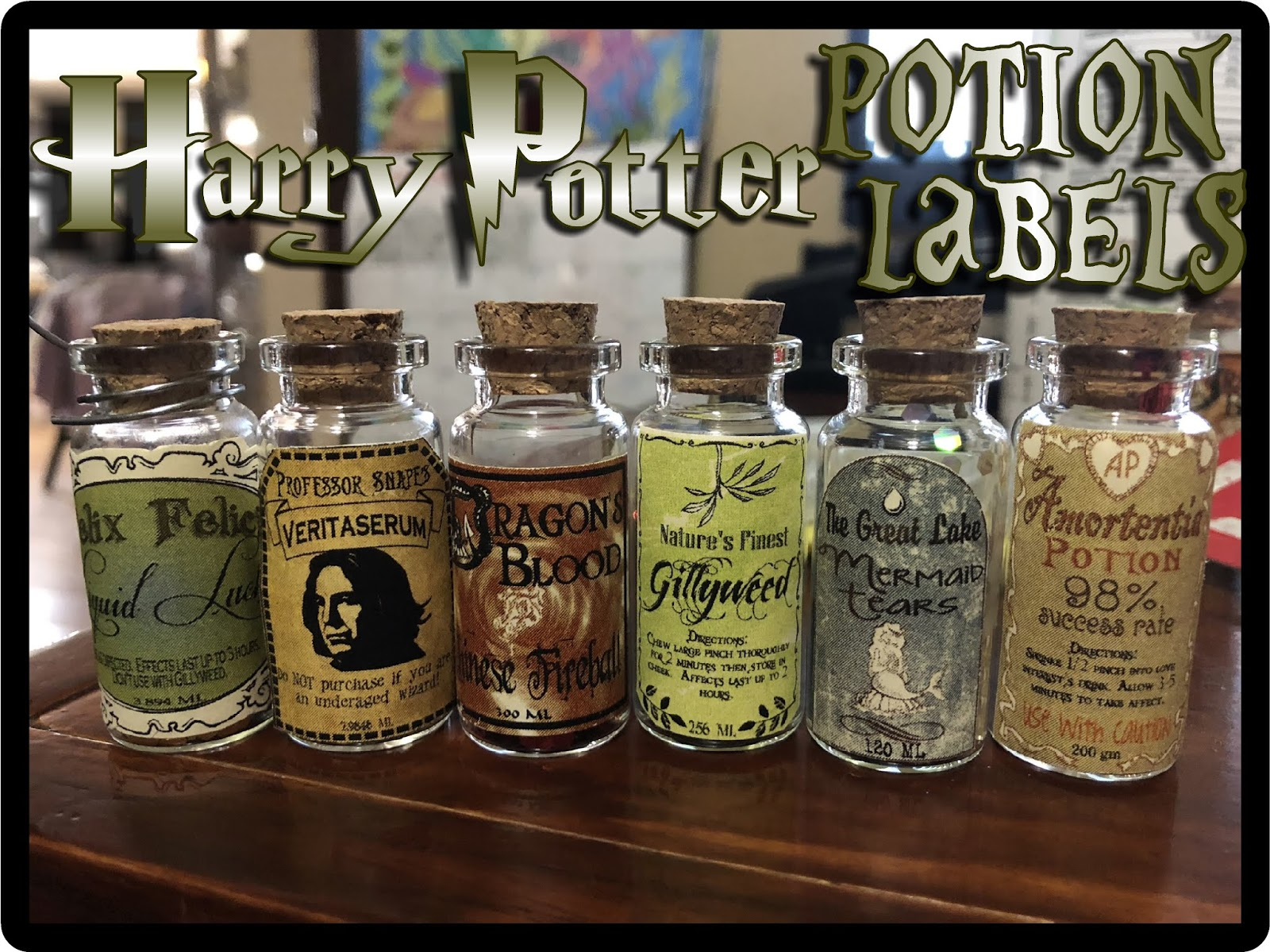 Hollyshome Family Life: Harry Potter Potion Labels Free Regarding Harry Potter Potion Labels Templates