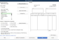How To Customize Invoice Templates In Quickbooks Pro for How To Change Invoice Template In Quickbooks