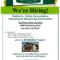 Job Opening Flyer - Tunu.redmini.co regarding Job Posting Flyer Template