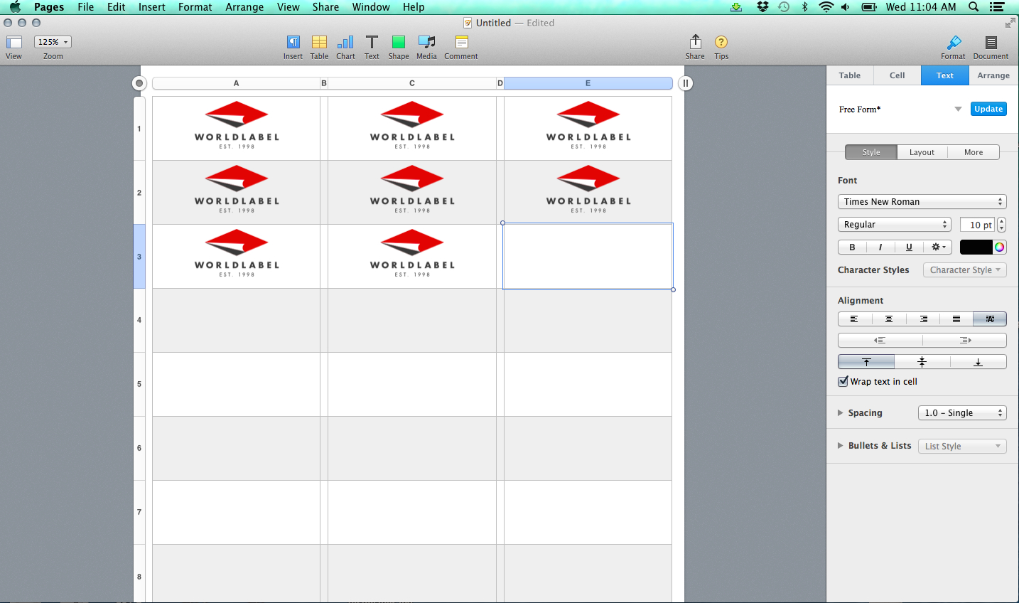 Label Templates For Pages For A Mac Released | Free Within Label Template For Pages