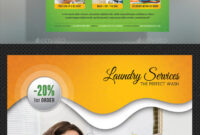 Laundry Flyer Graphics, Designs & Templates From Graphicriver with Laundry Flyers Templates