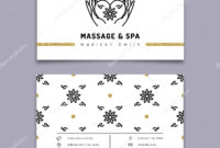 Massage Therapy Business Card Templates | Massage And Spa pertaining to Massage Therapy Business Card Templates
