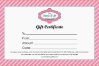 Print Gift Vouchers Online Free - Colona.rsd7 for Nail Gift Certificate Template Free