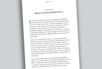 Professional-Looking Book Template For Word, Free - Used To Tech for How To Create A Book Template In Word