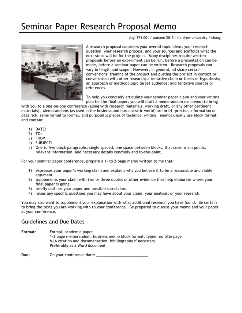 Research Proposal Memo With Memo Template Word 2013