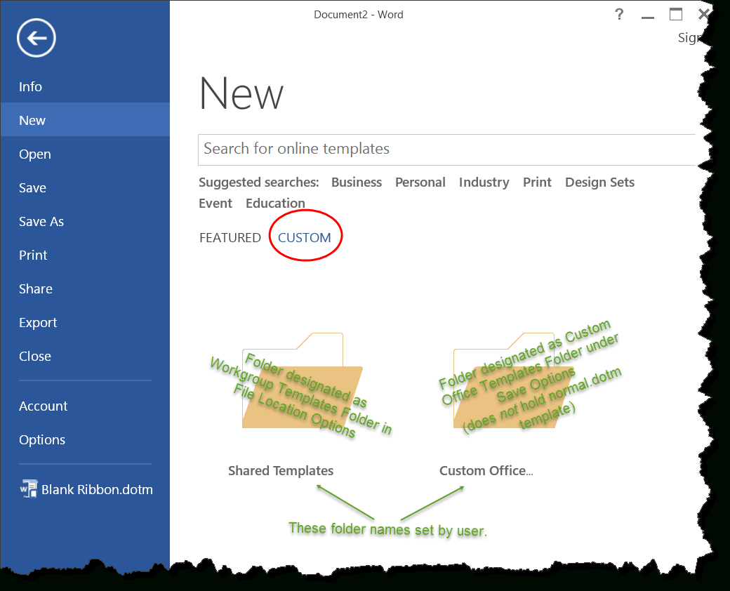 Templates In Microsoft Word – One Of The Tutorials In The With Regard To Memo Template Word 2013