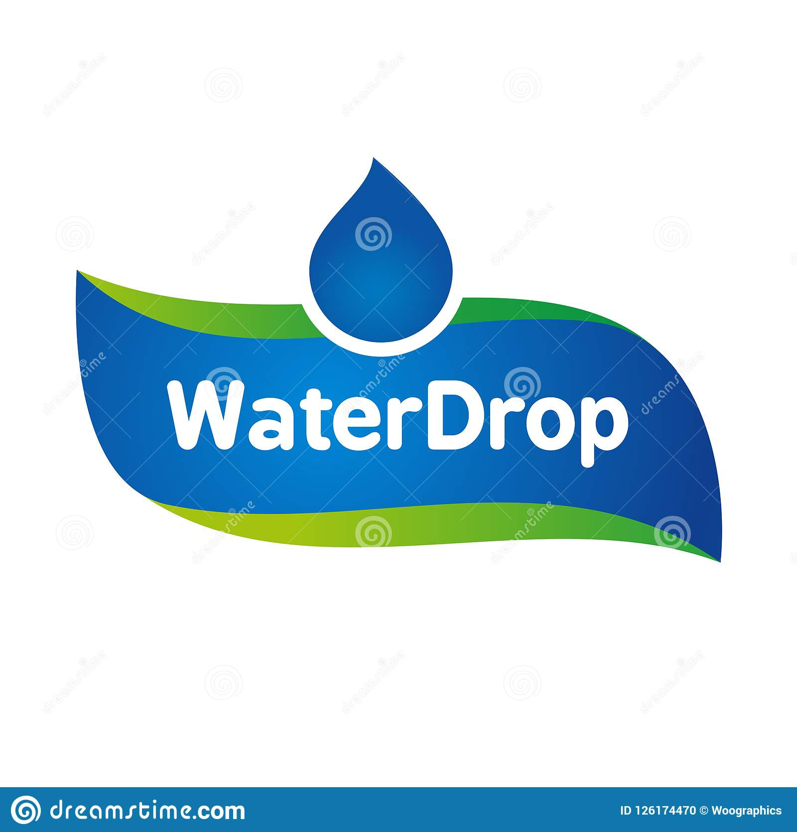 Vector Mineral Bottled Spring Water Logo Label Template With Regard To Mineral Water Label Template
